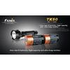 Фонарь тактический Fenix TK50 Cree 3 x XP-G R5 LED - фото 2