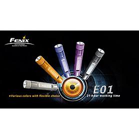 Фото 4 к товару Фонарь ручной FENIX E01 Nichia light GS Led