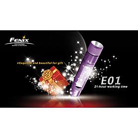 Фото 5 к товару Фонарь ручной FENIX E01 Nichia light GS Led