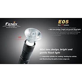 Фото 5 к товару Фонарь ручной FENIX E05 Cree XP-G LED R2