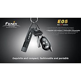 Фото 7 к товару Фонарь ручной FENIX E05 Cree XP-G LED R2