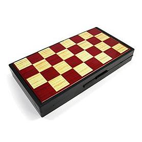 Фото 1 к товару Набор игр магнитный 3 в 1 Leon Magnetic - шашки, шахматы, нарды