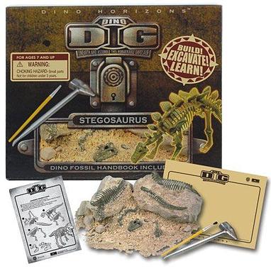 Игровой набор Раскопки Стегозавра Dino Horizons