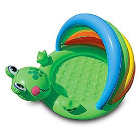 Фото 1 к товару Бассейн детский надувной «Лягушонок» Intex 57416 (114х69 см)