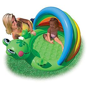 Фото 2 к товару Бассейн детский надувной «Лягушонок» Intex 57416 (114х69 см)