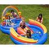Комплекс детский игровой надувной «Радуга» Intex 57453 (297x163x135 см) - фото 3