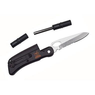 Нож складной Экспедиция «Нож-огниво»