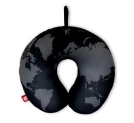 Подушка-подголовник «Черная карта» Экспедиция