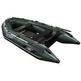 Фото 3 к товару Лодка надувная моторная килевая Aquastar K320 зеленая