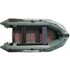 Лодка надувная моторная Aquastar K-300 зеленая - фото 1