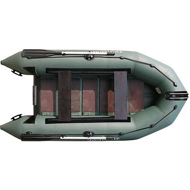 Лодка надувная моторная Aquastar K-300 зеленая
