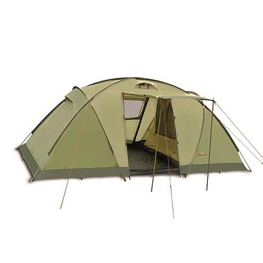 Палатка четырехместная Pinguin Base Camp 4 зеленая