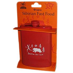 Фото 1 к товару Фляга «Sibirian Fast Food» Экспедиция