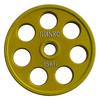Диск обрезиненный олимпийский 15 кг Ivanko RCP19-15 цветной - 51 мм - фото 1