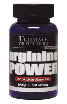 Аминокомплекс Ultimate Nutrition Arginine power (100 капсул)