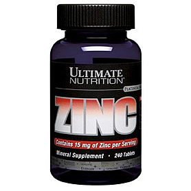 Минерал Цинк Ultimate Nutrition Zinc (120 таблеток)