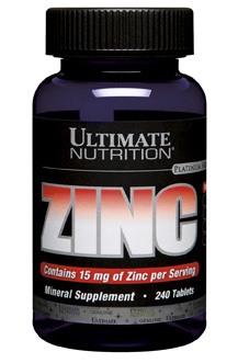 Минерал Цинк Ultimate Nutrition Zinc (120 таблеток)