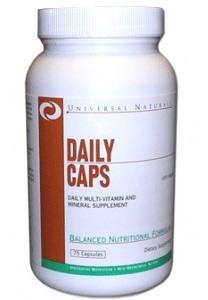 Комлекс витаминов и минералов Universal Daily Caps (75 капсул)