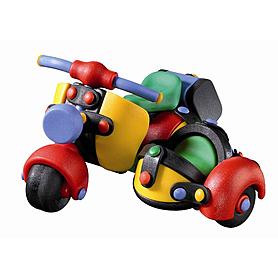 Конструктор Mic-o-Mic Motor Scooter with Side Car скутер с коляской