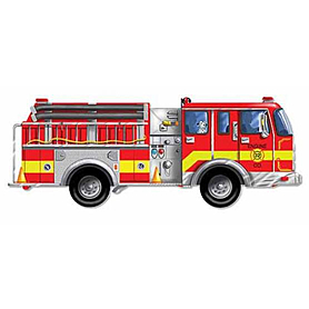 Фото 1 к товару Пазл «Большая пожарная машина» Melissa & Doug