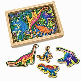 Фото 1 к товару Набор магнитный «Динозавры» Melissa & Doug