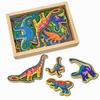 Набор магнитный «Динозавры» Melissa & Doug - фото 1