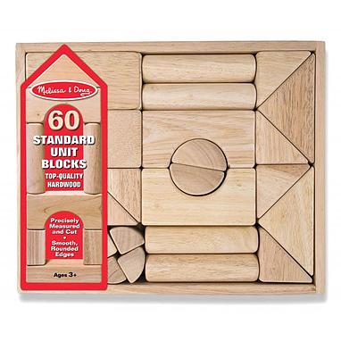 Набор кубиков 60 штук Melissa & Doug