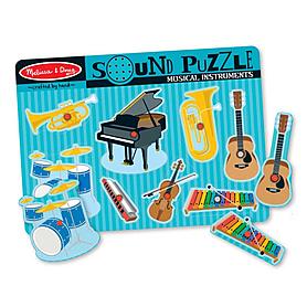 Фото 1 к товару Пазл звуковой «Музыкальные инструменты» Melissa & Doug