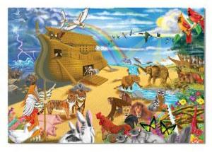 Пазл «Ноев ковчег» 200 элементов Melissa & Doug