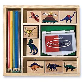 Фото 1 к товару Набор штампов «Динозавры» Melissa & Doug