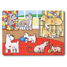 Рамка – вкладыш «Угадай домашнее животное» Melissa & Doug