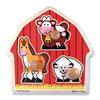 Пазл формовой «Животные с фермы» Melissa & Doug - фото 1