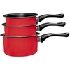 Кастрюли и ковшики Milk pan red - фото 1
