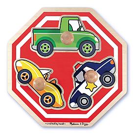 Пазл формовой «Машинки» Melissa & Doug