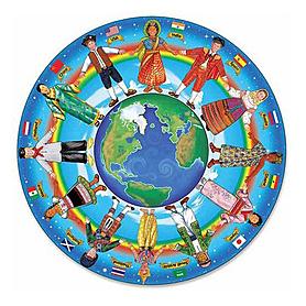 Фото 1 к товару Пазл «Дети мира» Melissa & Doug