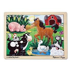 Пазл «На ферме» Melissa & Doug