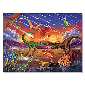 Фото 1 к товару Пазл «Конец эры динозавров» Melissa & Doug