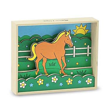 Объемная раскраска «Лошадь» Melissa & Doug