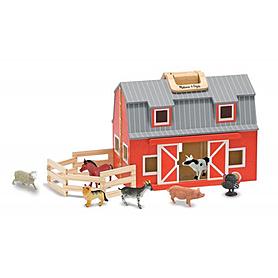 Фото 1 к товару Набор «Складная ферма» Melissa & Doug