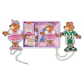 Шнуровка «Одень медведя» Melissa & Doug