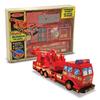 Деревянный конструктор «Пожарная машина» Melissa & Doug - фото 1