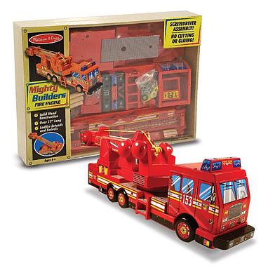 Деревянный конструктор «Пожарная машина» Melissa & Doug