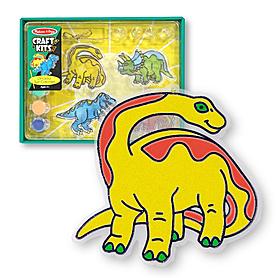 Фото 1 к товару Витраж «Динозавры» Melissa & Doug