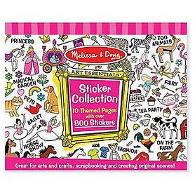 Розовый набор стикеров Melissa & Doug