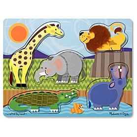 Фото 1 к товару Пазл «Зоопарк» Melissa & Doug
