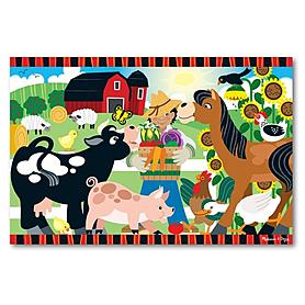 Фото 1 к товару Пазл «Веселая ферма» Melissa & Doug