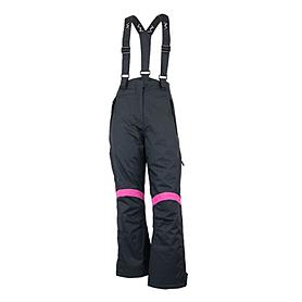 Штаны горнолыжные Campus Miriam черно-розовые