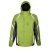 Куртка горнолыжная Campus Lancaster зелено-черно-белая - фото 1