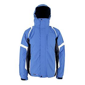 Куртка горнолыжная Campus Lancaster голубой-графитовый-белый
