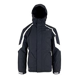 Куртка горнолыжная Campus Rockland черно-белая